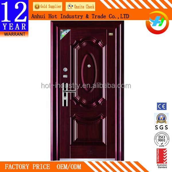 High End Luxury Wrought Iron Entry Door Handles High