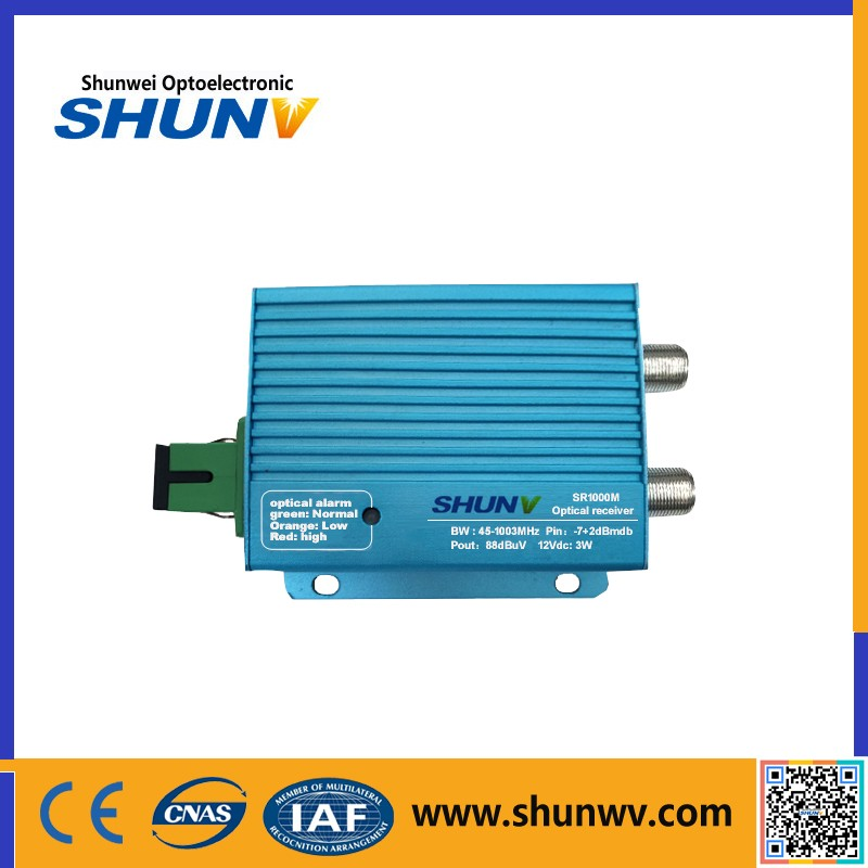 SW FTTH CATV Optical Receiver, Mini FTTH Node
