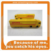 transport truck shape usb memory stick for shipping promotion