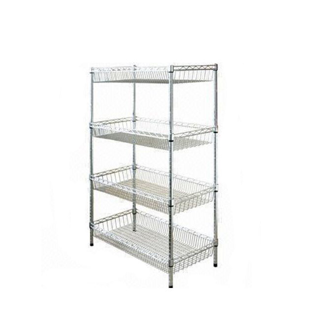 fashion kitchen stainless steel wire shelves