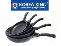 Nano-silver Marble Coated Fry pan & Wok with or without Glass lid!!