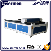 laser cutting machine for balsa wood with 1300x2500mm working size and taiwan guide