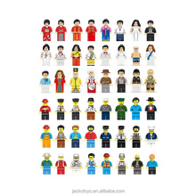 56 Different Models Toys DIY Mini Action Figures For Kids