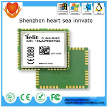 Low price high quality 2014 new telit m2mLOCATE gprs gsm module GL865-QUAD in China