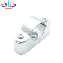 wholesale factory price galvanized malleable iron pipe clamp 3/4