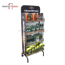 New design floor standing retail shop game metal counter display stand