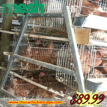 Chicken breeding coop cage/welded chicken cage wire mesh for sale