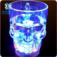 skull glass cup On Off Fashionable Skull Led Flashing Cup Glow Plastic Supplier Fashionable Skull Led Flashing Cup