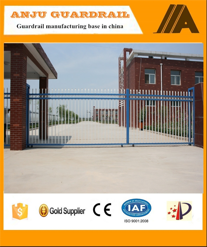 AJ-GATE004 2015new product high quality iron driveway gates