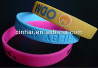 factory directly sale customized Europe Silicone Silly Baller Arm Band