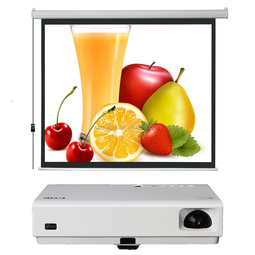 Electric Screen 120 Inch 16:9 Motorized projector screen projection screen fabric