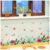 Fantastic Cheap Non-toxic 80gsm PVC Floral Wall Stickers