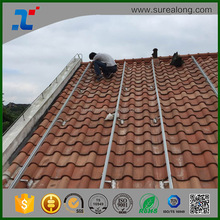 Solar Energy Slate Tile Roof mounting solar panel rack