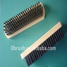nylon shoe brush/cleaner hand tool