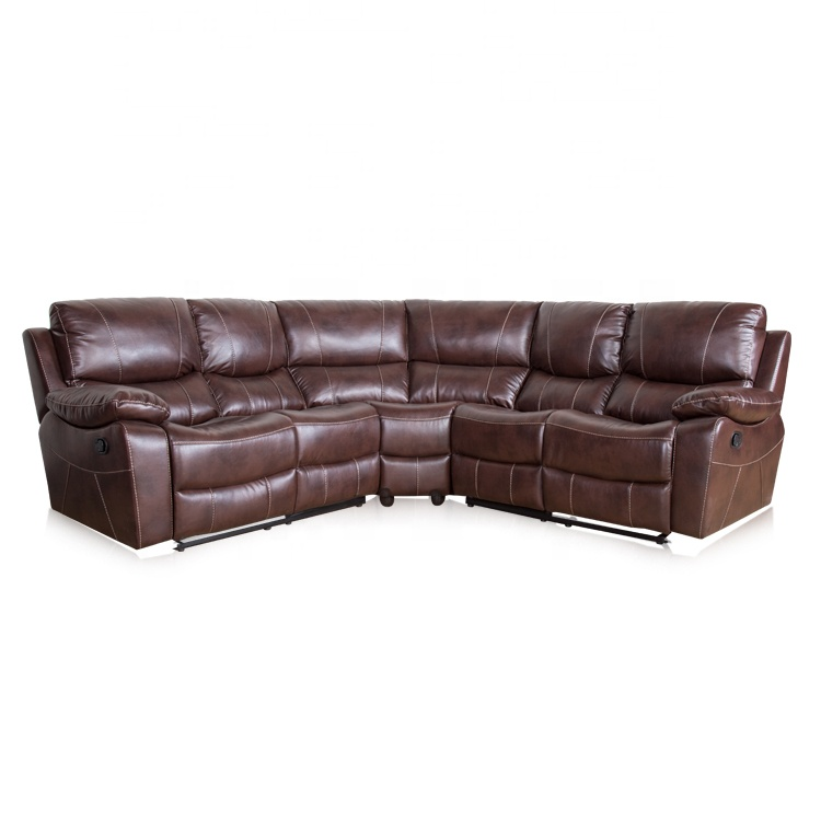 Cheap Living Room Furniture Leather Corner Recliner Sofa Set - Buy Corner  Recliner Sofa,Leather Corner Recliner Sofa,Leather Corner Recliner Sofa Set  ...
