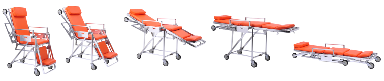 Rescue Used Ambulance Stretcher for Sale