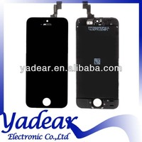 Cheap price OEM black and white color mobile phone lcd/touch screen for iphone 5s