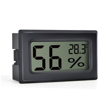 RINGDER PT-2H Digital LCD Thermohygrometer Hygrometer Humidity Meter Tester Temperature Incubator Thermometer with Sensor
