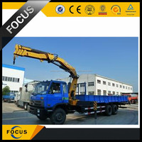 Chinese XCMG SQ6.3ZK3Q mini knuckle boom truck mounted crane