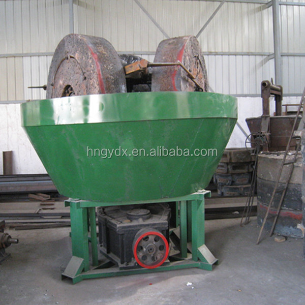 China vertical two rollers gold grinding mill price