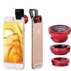 Phones Leather Mobile Phone Bags & Cases Fisheye Lens Coque for Iphone for Samsung Galay Note 5 4 Camera Fish Eye Cover