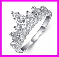 KDA1966 High Quality Unique sterling silver Cheap queen crown ring