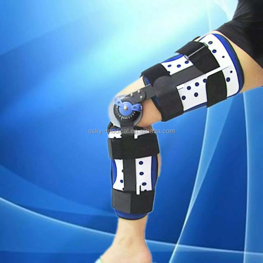 Manufacture of Hinged Knee extension Brace Knee cap protector