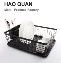 black color powder coating dish rack
