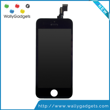 Wholesale 100% Tested Replacement Repair Parts For iPhone 5C LCD Display with Touch Screen Digitizer + Frame