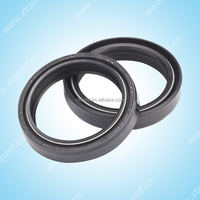Motorcycle nbr rubber dust three lip oil seal