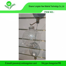 Cheap Christmas decorations plastic bauble,decorative clear Xmas ball plastic transparent ball