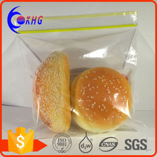 High-quality Polyethylene Custom Printed Plastic Resealable Bags for food packaging