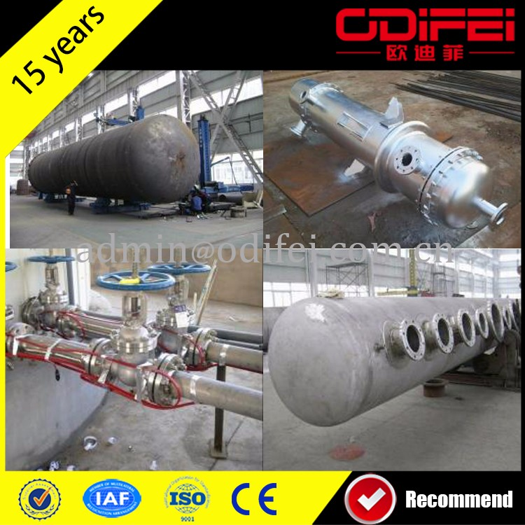20t used engine oil recycling machine