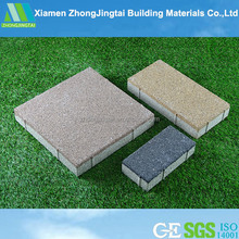 Outdoor natural pebble stone paver