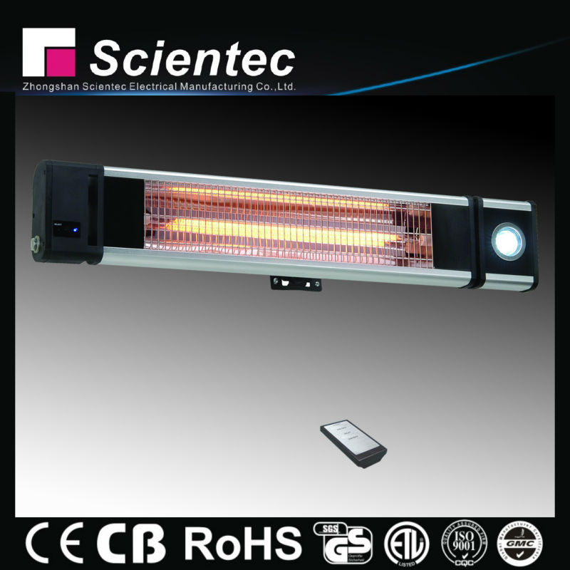 Scientec Electric Overhead Ceiling Infrared Heater 1800W AH18CCLR