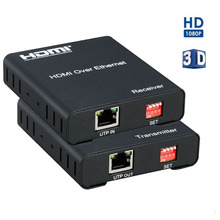 HDMI Matrix Extender Over IP By CAT 5E/6 Cable With IR control Full HD 1080P over TCP/IP HDMI Transmitter/Receiver 120M