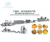 800-1000kg/h Tortilla doritos production line corn chips machinery