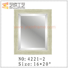 PS Plastic Material Big Mirror Frame Wall Mounted Dressing Mirrors