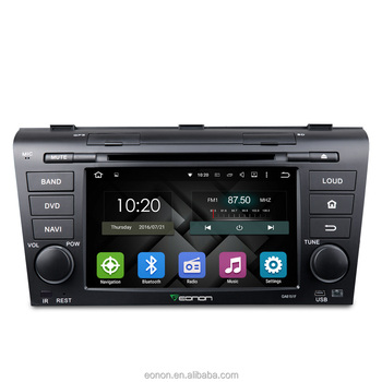 EONON GA6151F for Mazda 3 2004-2009 Android 5.1.1 Lollipop 7 inch Multimedia Car DVD GPS with Mutual Control EasyConnection