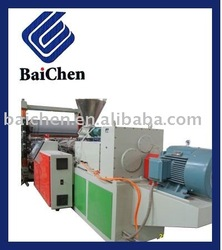 PP PE PET PVC Plastic sheet extrusion machine