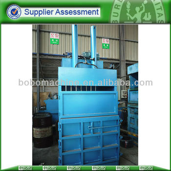 Used garment baler packing machine