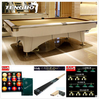 The latest style professional tournament gully return pocket billiard pool table