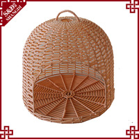 Factory supplier cheap outdoor washable handmade dog cage/durable rattan dog house