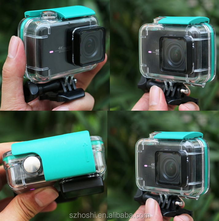 Camera Diving 40M Waterproof Case Wholesales gopro accessories II 2 Case Xiaomi YI 4K Action Camera 2 Protective Housing