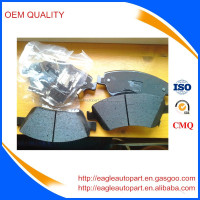 Ceramic Bosch brake pads for toyota auris altis vitz 04465-02370