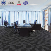 100% Nylon carpet tiles, Office rug, Rubber back carpet tiles