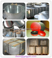 1050 1060 3003 Aluminum Circle/Disc for Cookware/Utensil Deep Drawing