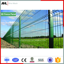 High Security Galvanized Heavy Gauge 6ft Welded Weldmesh Metal Fencing 1/4 Inch PVC Powder Coated Wire Mesh 3D Fence Panel