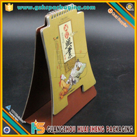 Cardboard Stand Desktop Calendar,Special Shape Used for Promotions