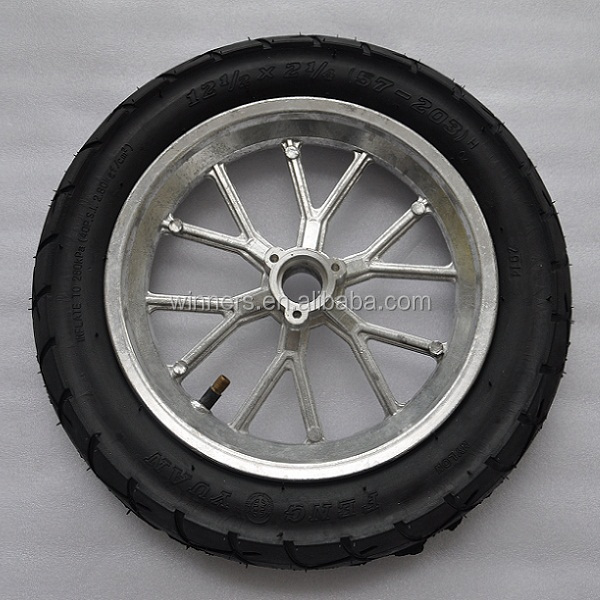 12 Inch Pneumatic Scooter/motorcycle Alloy Wheel - Buy ...